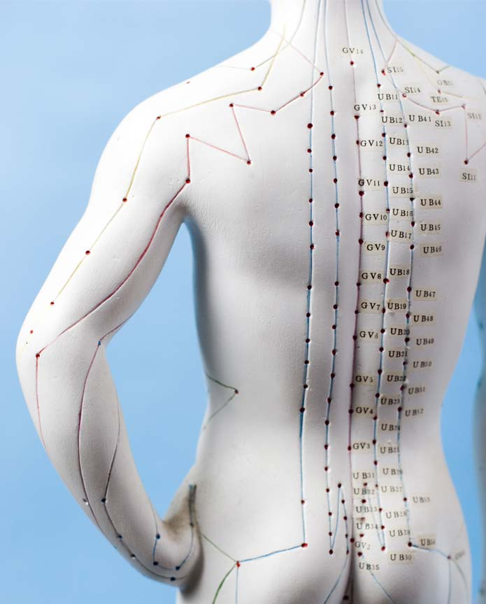 point d'acupuncture sur le corps