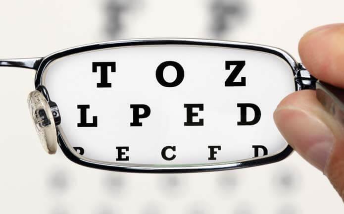 trouble de vision et acupuncture